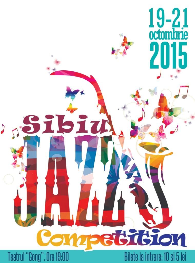 Afis Concurs Sibiu Jazz Festival