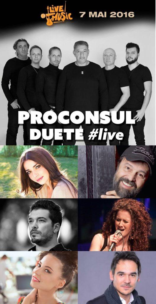 Invitati concert Proconsul 7 mai
